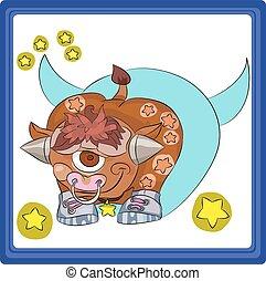 Taurus - the second sign the zodiac horoscope.