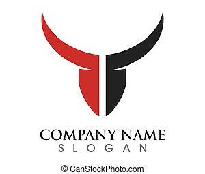 Taurus Logo Template - Red Bull Taurus Logo Template vector...