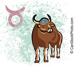 Taurus sign of the Zodiac