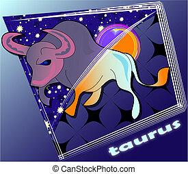 taurus - post card