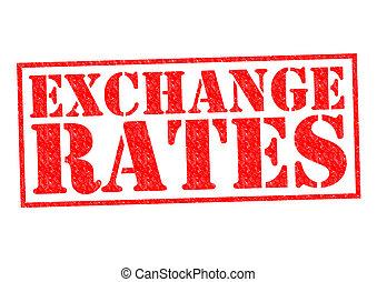 taux, échange