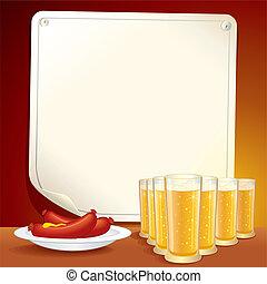 taverne, affiche
