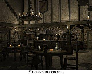 taverne, middeleeuws