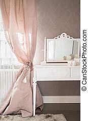 tavola, abbigliamento, camera letto