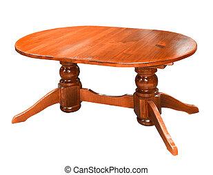 tavola, bianco, legno, isolato, fondo