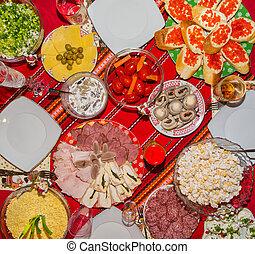 tavola, celebratory