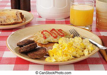 tavola, colazione, picnic