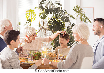 tavola, famiglia