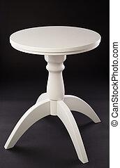 tavola legno, bianco