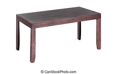 tavola legno, bianco, isolato