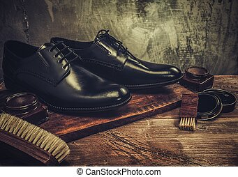 tavola legno, cura, accessori, scarpa
