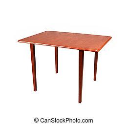 tavola legno, sfondo bianco