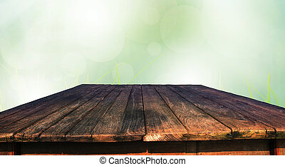 tavola, legno, vecchio