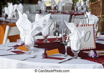 tavola, matrimonio