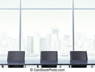 tavola, posto lavoro, trattative, negoziati