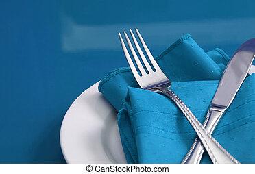 tavola, set, uno