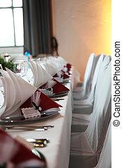 tavoli, set, ristorante