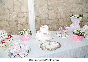 Decorare Un Tavolo Per Battesimo : Tavolo battesimo addobbi e decorazioni di un tavolo per battesimo