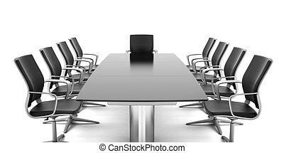 tavolo conferenza, sedie