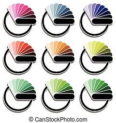 tavolozza dei colori