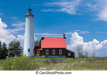Tawas Point Lighthouse, built in 1876