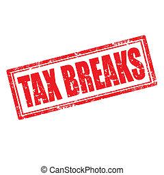 Tax Breaks-stamp