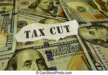 Tax cut money