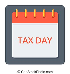 Tax Day Concept