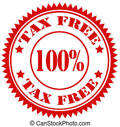 Tax Free-stamp