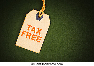 Tax free tag