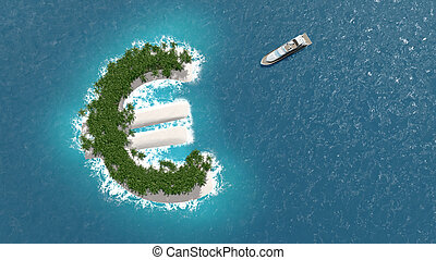 Tax haven, financial or wealth evasion on a euro island. A...