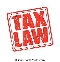 TAX LAW red stamp text