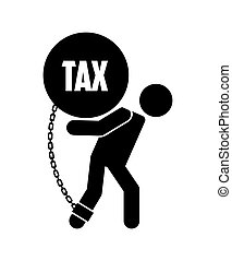 tax liability design - tax liability design, vector...