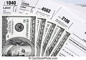 Tax Papers and showing that we can recieve or have to spend.