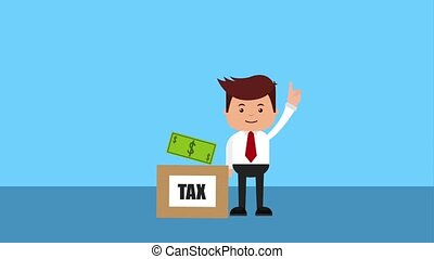tax payment related - tax auditor and cardboard box taxes...