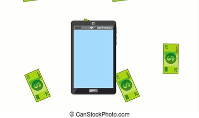 tax payment related - tax payment online on smartphone...