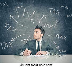 Tax problem - Concept of businessman and tax problem