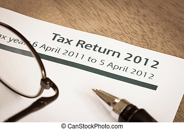Tax return 2012