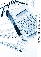 Tax return - Calculating numbers for income tax return with...