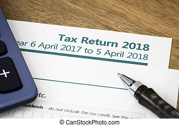Tax return form UK 2018