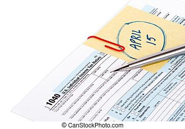 Tax return reminder