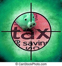 Tax target