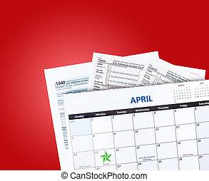Tax Time Calendar