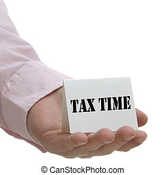 Tax Time - Sign Series