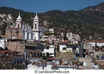 taxco, ciudad, guerrero, mexicano, localizado, estado