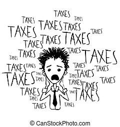 Taxes and taxes