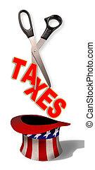taxes., découpage