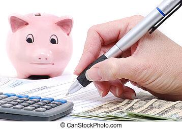 income tax concept