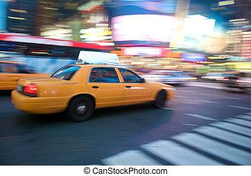 Taxi, új,  York, Város