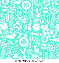 taxi, (auto, éléments, bouchon, piste, siège, key), transport, pneu, icônes, modèle, drapeau, piston, moteur, checkered, ceinture, étiquette, fond, étincelle, voiture, ouvrier, mécanicien